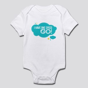 I Have One Speed Go! Infant Bodysuit