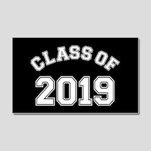 Class Of 2019 Car Magnet 20 x 12