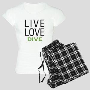 Live Love Dive Women's Light Pajamas