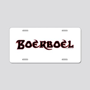 Boerboel Aluminum License Plate