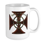 USA or Nothing Iron Cross 8 Large Mug