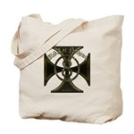 USA or Nothing Iron Cross 8 Tote Bag