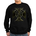 USA or Nothing Iron Cross 8 Sweatshirt (dark)