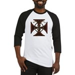 USA or Nothing Iron Cross 8 Baseball Jersey