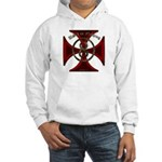 USA or Nothing Iron Cross 8 Hooded Sweatshirt