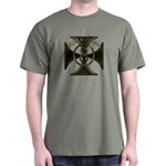 USA or Nothing Iron Cross 8 Dark T-Shirt
