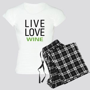 Live Love Wine Women's Light Pajamas