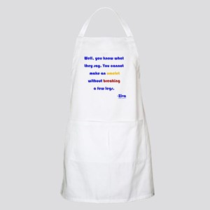 Eggs or Broken Legs Apron