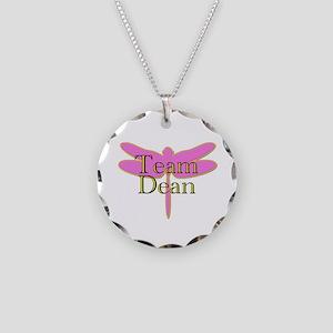Team Dean Gilmore Girls Necklace Circle Charm