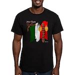 Italian Now That's Ita Men's Fitted T-Shirt (dark)