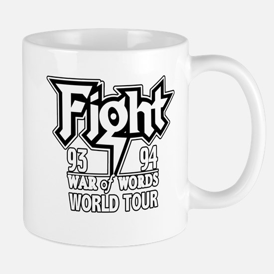 Fight War of Words 93 94 Worl Mug