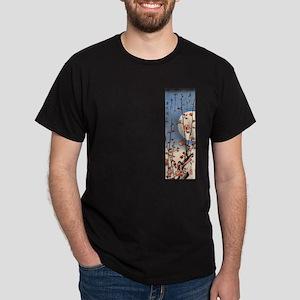 Classic Japanese Art Dark T-Shirt