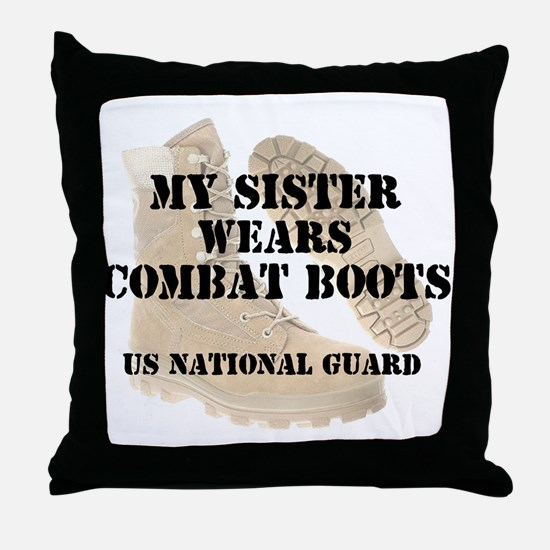 My Sister Wears NG DCB Throw Pillow