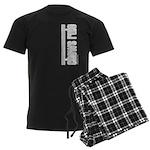 Chows Rule Chow Chow Men's Dark Pajamas