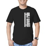 Chows Rule Chow Chow Men's Fitted T-Shirt (dark)