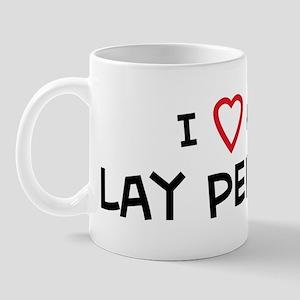 I Love Lay Person Mug