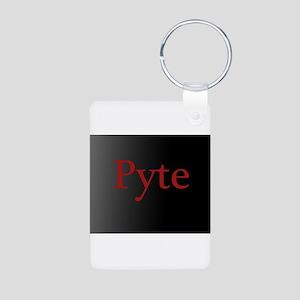 R.L. Mathewson's Pyte Aluminum Photo Keychain