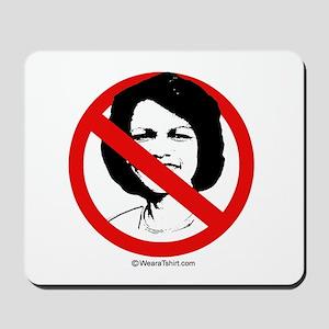 No Condoleezza Rice -  Mousepad