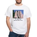 El Captian w/ blue sky t-shirt--white
