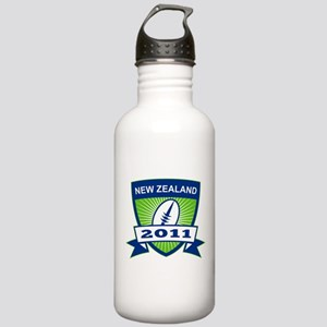 Zealand 2011 Rugby Stainless Water Bottle 1.0L