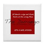 The Durango Tile Coaster