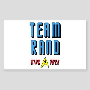 Team Rand Star Trek Sticker (Rectangle)