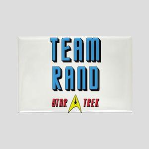Team Rand Star Trek Rectangle Magnet