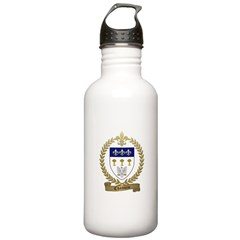 CHAUVIN Family Crest Water Bottle