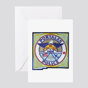 Portales Police Greeting Card