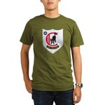 USS COLAHAN Organic Men's T-Shirt (dark)