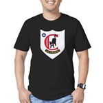 USS COLAHAN Men's Fitted T-Shirt (dark)