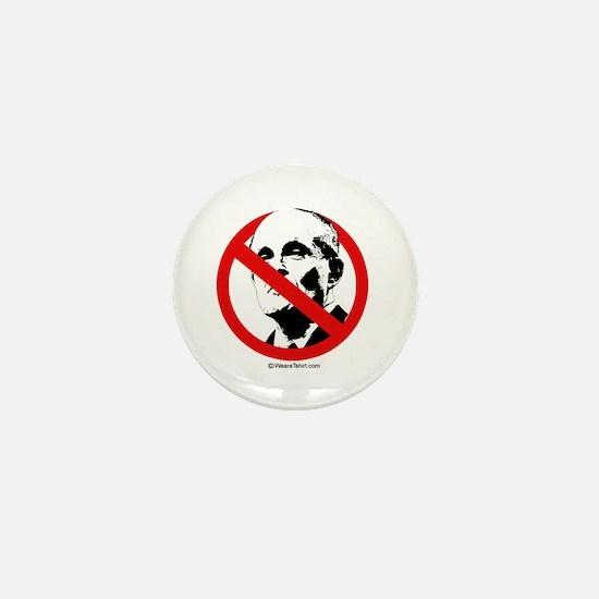No Rudy Giuliani Mini Button