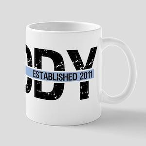 Daddy Established 2011 Mug