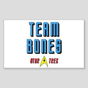 Team Bones Star Trek Sticker (Rectangle)