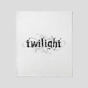 Twilight 4 Throw Blanket