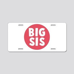 Big Sis Aluminum License Plate