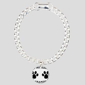 Ask About Granddog Charm Bracelet, One Charm