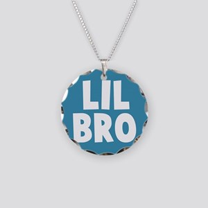 Lil Bro Necklace Circle Charm