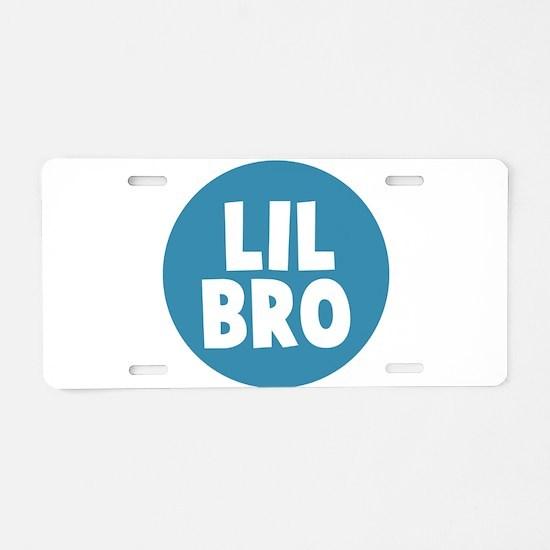 Lil Bro Aluminum License Plate