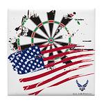 American Heroes: Air Force Tile Coaster
