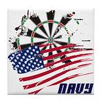 American Heroes: Navy Tile Coaster