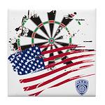 American Heroes: Police Tile Coaster