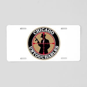 Chicago Untouchables Aluminum License Plate