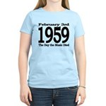 1959 - The Day the Music Died Women's Light T-Shir