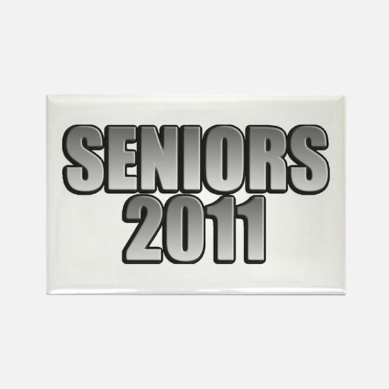 Seniors 2011 Rectangle Magnet (100 pack)
