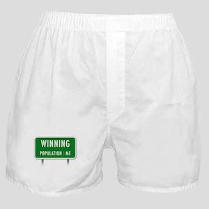 Winning Population : ME Boxer Shorts