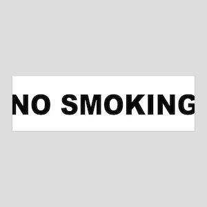 no smoking sign 42x14 Wall Peel