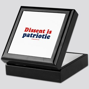 Dissent is patriotic - Keepsake Box