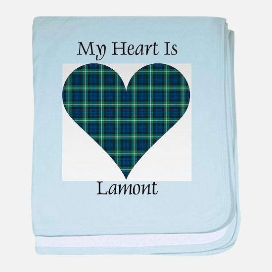 Heart - Lamont baby blanket