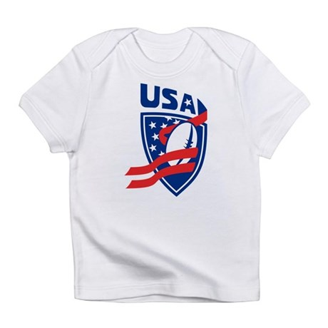 American USA Rugby Infant T-Shirt